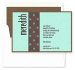 Festivity Bat Mitzvah Invitations