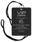 VIP Pass Invitations