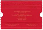 Admission Ticket Invitations