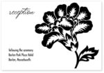 Wild Rose Reception cards