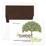 A Sweet New Year - Jewish New Year Card 2