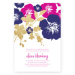 Lei Foils Invitations