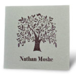 A Tree of Life - Bar Mitzvah Invitation