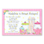 madeline sweet sixteen card
