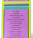 Green Blue and Purple Bat Mitzvah Invite