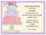 Sweet Presents - Printable Party Invitations