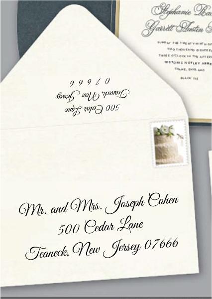 Envelope Addressing Digital Calligraphy - Font Great-Vibes