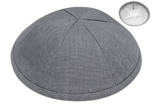Grey – European Linen Kippah