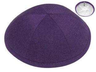 Purple – European Linen Kippah
