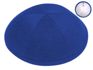Royal Blue – European Linen Kippah