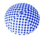 Blue Gingham Checks - Fabric Shirt Kippah