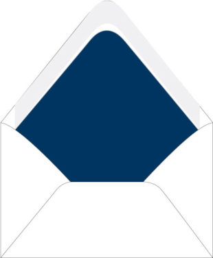 Blue Envelopes liners