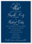 Cambridge - Wedding Invitation