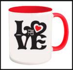 Love Ahava - Jewish Hebrew Mug