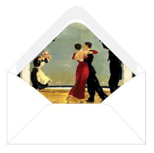 dancing with the stars envelopes lliners