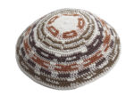 Earth Tones - Knit Kippah