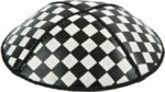 Checkerboard Leather Kippah