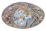 Mosaica Leather Kippah