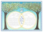 2-gether Wedding Rings - Female Ketubah