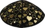 Hearts of Gold Foil Embossed - Kippah