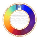 Love's Rainbow 2-gether Female - Ketubah