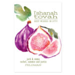 A Fruitful Wishes - Jewish New Year Card