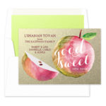 A Very Sweet New Year - Jewish New Year Card
