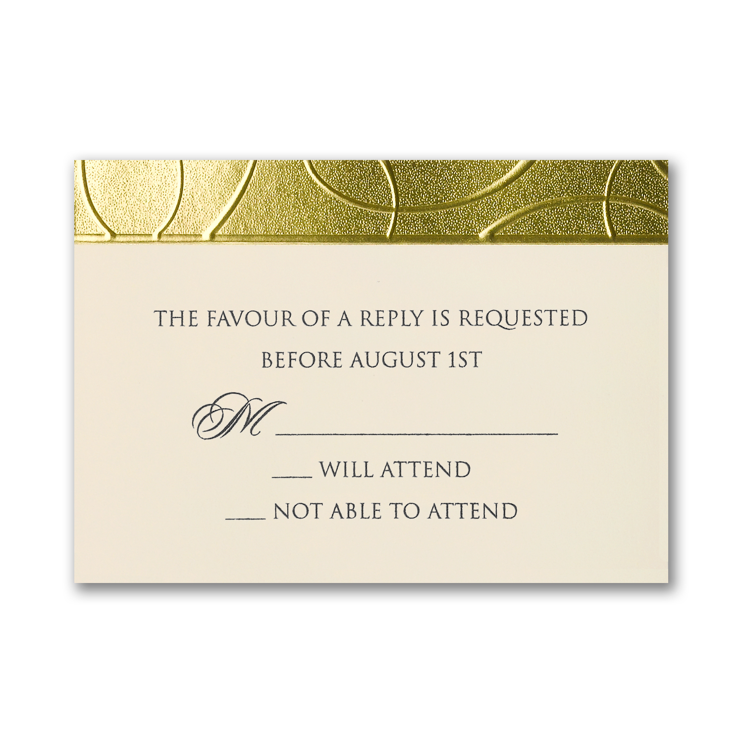 Gilded Border – Wedding Invitation – Custom Wedding, Bar Mitzvah and ...