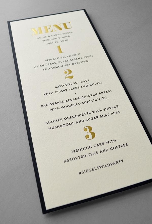 Custom Wedding, Bar Mitzvah and Bat Mitzvah Invitations | Cohen ...