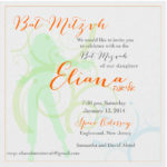 Dancing with the Star - Digital Bat Mitzvah Invitation