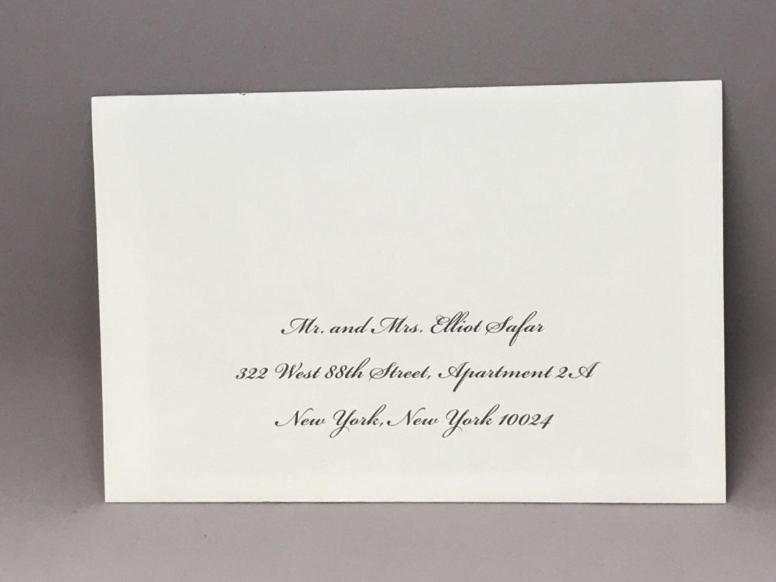 Envelope Addressing Digital Calligraphy – Font Bickham – Custom ...