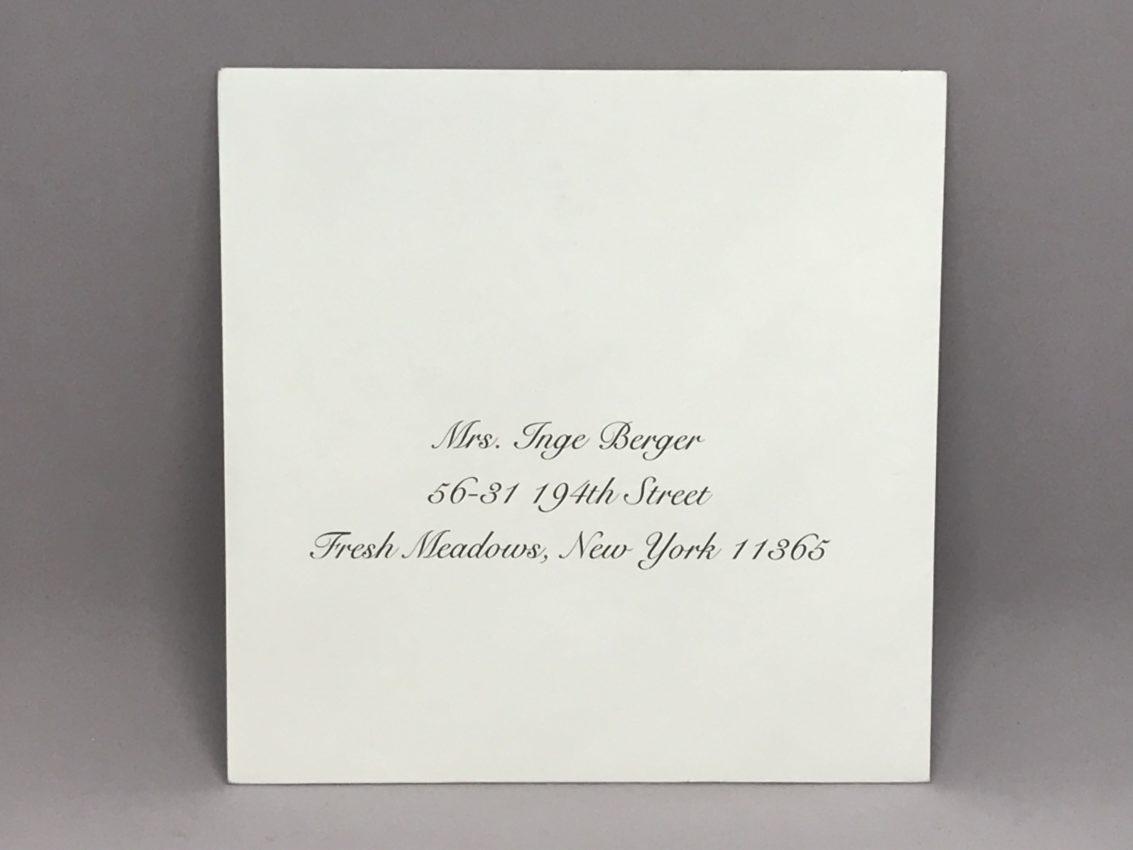 Envelope Addressing Digital Calligraphy – Font Snell – Custom ...
