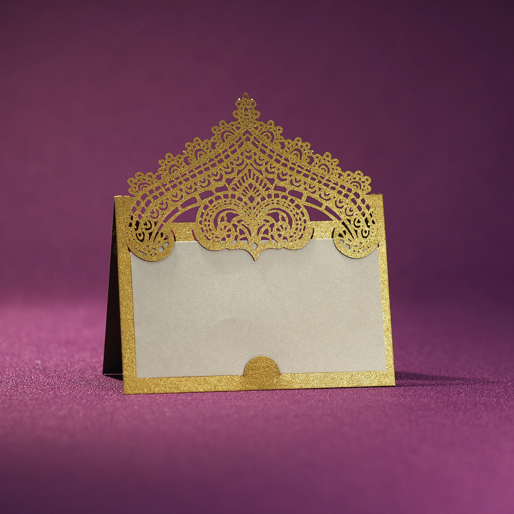 Blank Place and Table Cards