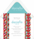Colorful Polka Dots Bat Mitzvah Invirtation