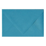 Shimmer Peacock | Blank Color Euro flap Envelopes‎