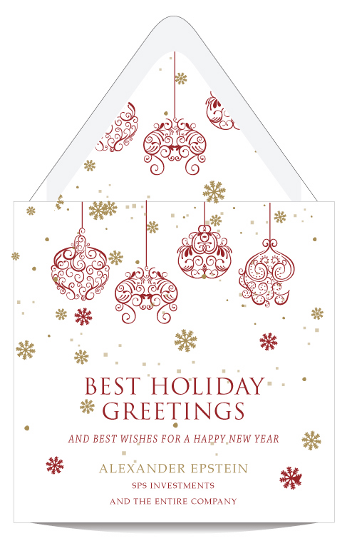 Greetings for the season holiday card custom wedding bar mitzvah greetings for the season holiday card m4hsunfo